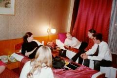 hotellihuoneessa